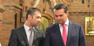 Gabriel Zetea, președintele Consiliului Județean Maramureș, și Cătălin Cherecheș, primarul municipiului Baia Mare